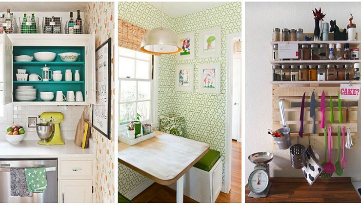11 Sneaky Storage Tricks for a Tiny Kitchen