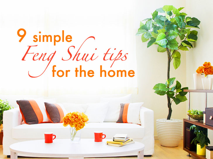 tips to feng shui your home house home