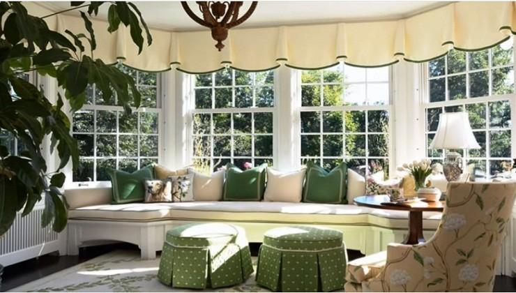 Romantic Bay Window Ideas for a Contemporary Home