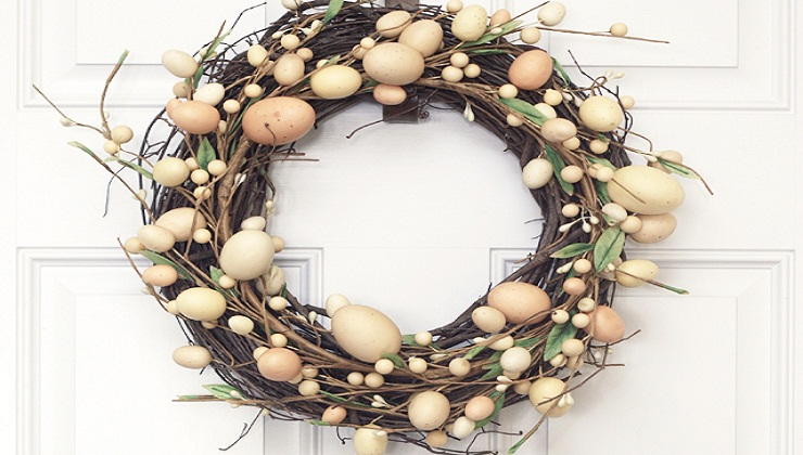 6 Easter Wreaths that will Bring Spring to your Door