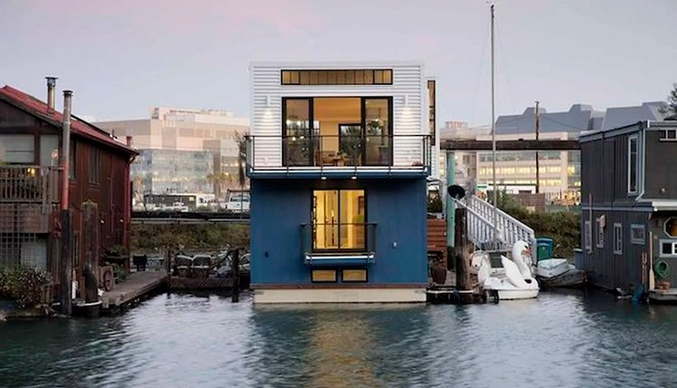 Amazing Contemporary Floating House in San Francisco, California