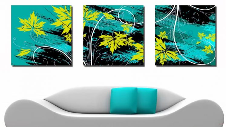 Triptych is a Modern type of Interior Design